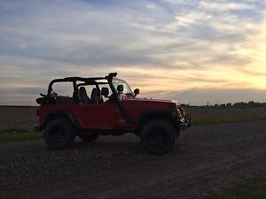 Looking for Jeep Tj Full doors, preferably red