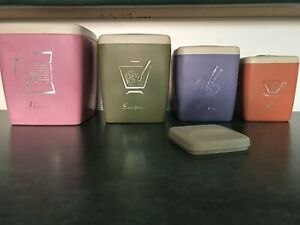 Vintage Kitchen Canisters Fitzroy North Yarra Area Preview
