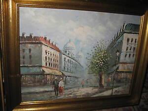 BURNETT  Louis, *1907        Wundervolles Paris mit Sacre Coeur