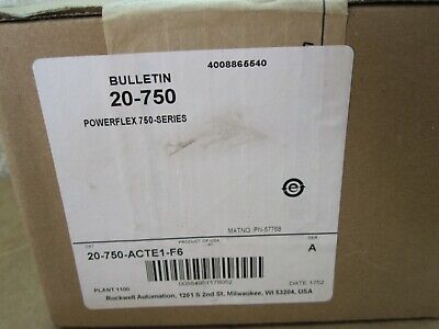 20-750-acte1-f6 Allen-bradleyrockwell Powerflex 750 Ac Terminal Extension Kit