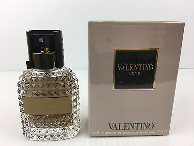 Valentino UOMO by Valentino MEN COLOGNE SPRAY 1.7 OZ edt NEW IN SEALED BOX, used for sale  Irving