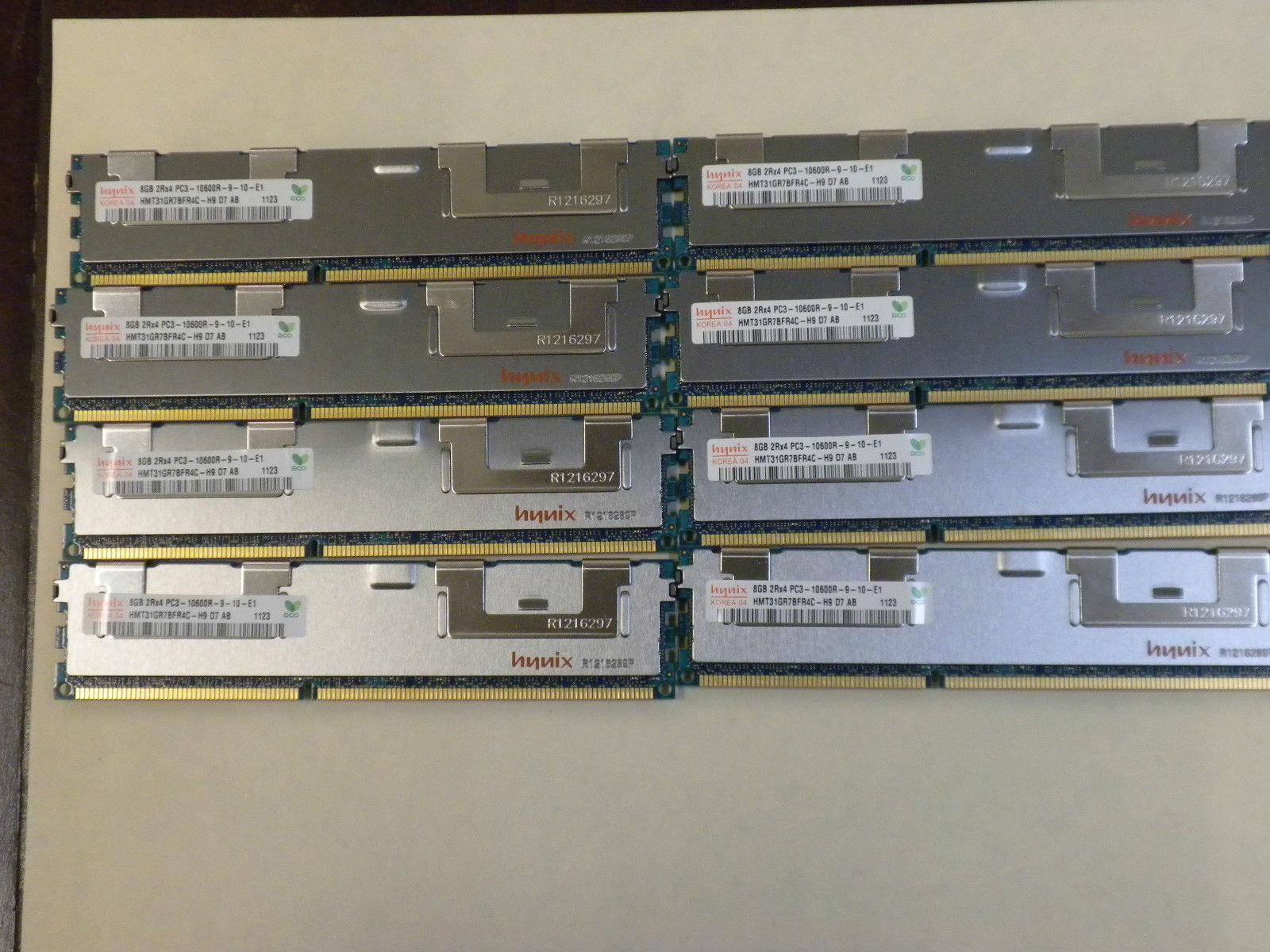 Memory DDR3 PC3-10600 ECC REG Compat to Dell A3078601 SNPX3R5MC//8G 2X8GB 16GB