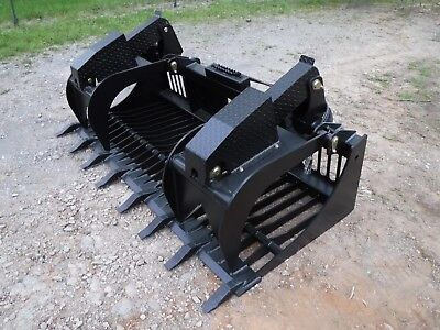Quicke Euro Global Tractor Loader Attachment 80 Rock Bucket Grapple - Ship 199