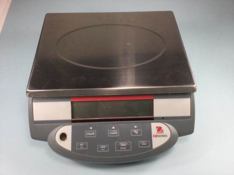 OHAUS EB SERIES COUNTING SCALE 3000 GM (6 LB)