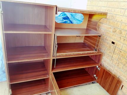 FREE FREE SIDE SHELVING/tv unit/bookshelves