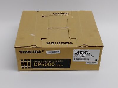 New Toshiba Dp5130-sdl Large Display Digital Office Business Telephone