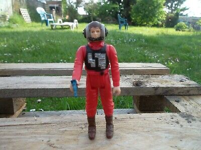 B Wing Pilot / Star Wars vintage Kenner ROTJ loose Action Figure Figurine 83*