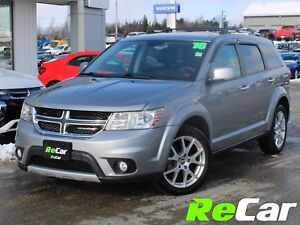 2016 Dodge Journey R/T AWD | HEATED LEATHER | BACK UP CAM