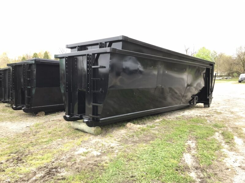 Roll Off Containers 30 Yard 36, 54, And 62 Inch Hook And Cable Roll Off Dumpster