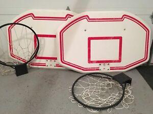 Paniers de basket murales