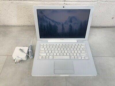 """APPLE MACBOOK 13.3"""" WHITE Intel 2.13Ghz - 160GB HDD 2GB RAM A1342 6M WARRANTY"""