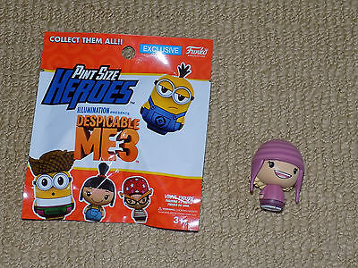 FUNKO, EDITH, PINT SIZE HEROES, DESPICABLE ME 3, VINYL FIGURE, NEAR MINT ()