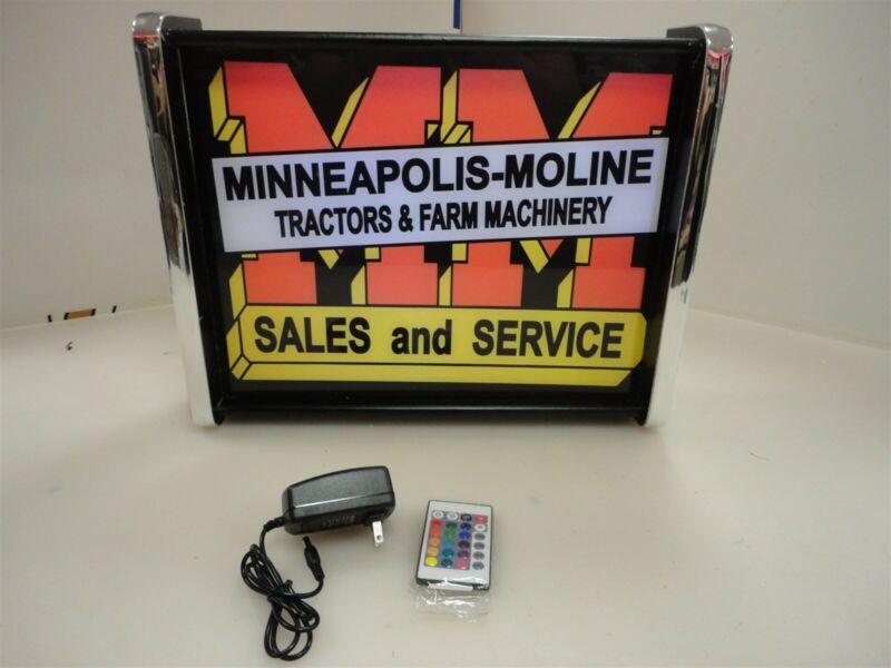 Minneapolis Moline Sales Service LED Display light sign box