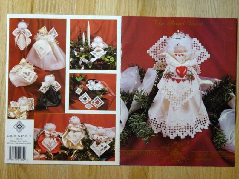 Emie Bishop Hardanger Angel Ornament Pattern Book Cross