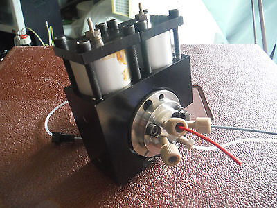 Rheodyne 2-position 6-port High-pressure Pneumatically Actuated Valve Assembly