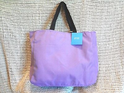 PORT & CO Women's Nylon Tote Bag~Travel Beach School Work Baby Diapers ~ ORCHID