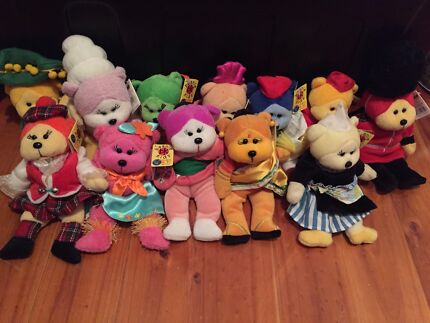 Around the world RARE beanie kids. Whole collection Whyalla Whyalla Area Preview