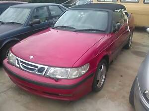 WRECKING X3 COVERTIBLE Saab 9-3/ HATCH TURBO 900s CONVERTIBLE Capital Hill South Canberra Preview