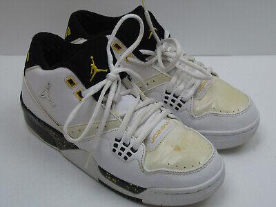 best service 0e588 3fedf Jordan Flight Boys Size 7Y Black   White Basketball Shoes 6493