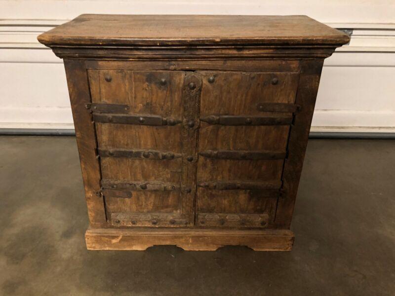 18th century Rustic Handmade Cabinet