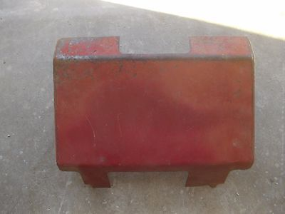 Farmall 706 Rowcrop Tractor Ih Original Rear Hydraulic Cover Panel