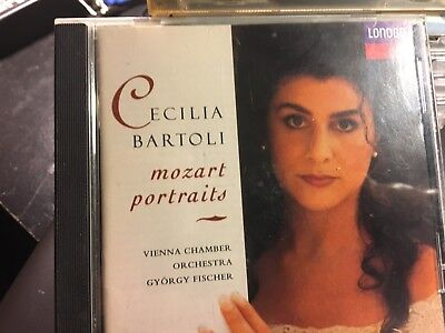 CD  CECILIA BARTOLI MOZART PORTRAITS VIENNA CHAMBER ORCHESTRA GYORGY FISCHER