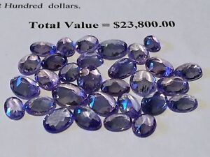 Thirty Loose Tanzanite Gemstones Mandurah Mandurah Area Preview