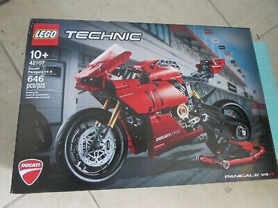 Lego Technic: Ducati Panigale V4 R (42107) 646 Pcs/pzs New Unopened