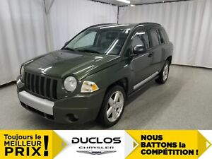 2007 Jeep Compass Limited*CUIR CHAUFFANT*FOGS*MAGS 18 *
