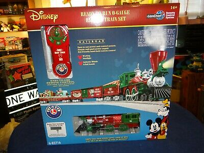 Lionel 1928 DISNEY HOLIDAY EXPRESS CHRISTMAS 027 Gauge Train Set + Accessories!