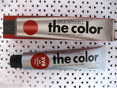 Paul Mitchell THE COLOR Permanent Hair Color YOUR CHOICE 3 oz  (Red Box)