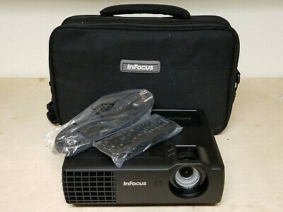 Mint InFocus IN1118HD 1080P Full HD 3D 4GB Portable Projector - Only 12 Hours!