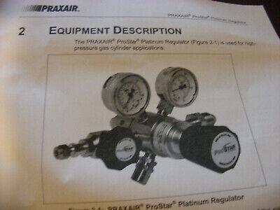 Praxair Prostar Platinum Prs100965-120 Regulator Brand New