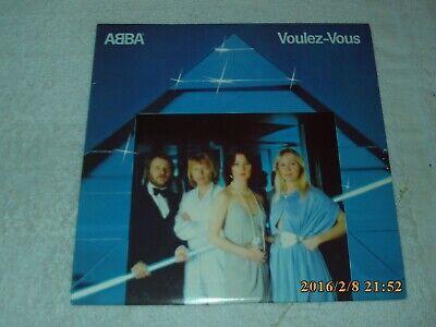 Voulez-Vous By Abba (Vinyl 1979 Atlantic) Original Record Album