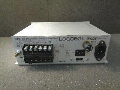Logosol Ls-1060s 60v 10a Power Supply 120v 5060hz