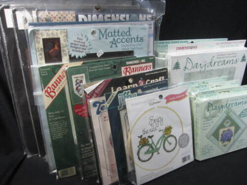 Dimensions Counted Cross Stitch Kits - You Pick - Read Listing