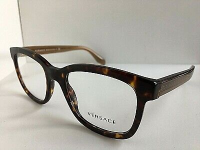 New Versace Mod. 3932 Tortoise 54mm Men's Eyeglasses Italy #4,7