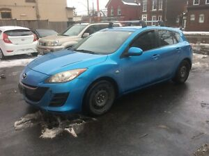 2010 Mazda 3 certified brand new clutch and brakes