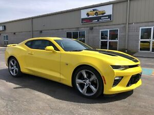 2017 Chevrolet Camaro 1SS Sunroof 6 Speed NPP Performance Exhaus