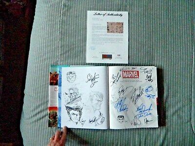 Marvel Encyclopedia by DK Publishing Staff Signed 123 Times Stan Lee Neal Adams