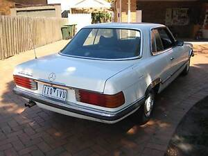1977 Mercedes-Benz 450SLC Coupe CLASSIC OLD BENZ PRICES GOING UP! Heidelberg Heights Banyule Area Preview