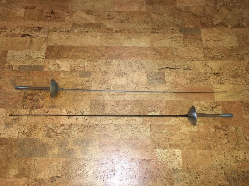 VMI VIRGINIA MILITARY INSTITUTE Vintage Fencing Swords VMI24 VMI17 Made In USA