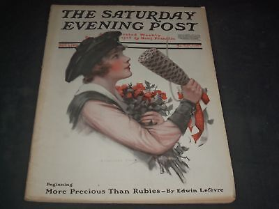 1918 NOVEMBER 9 SATURDAY EVENING POST MAGAZINE - FULL PAGE COLOR ADS - O11115 - November Coloring Pages