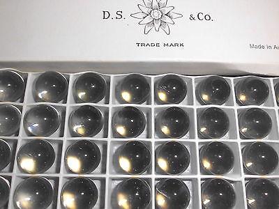 Swarovski vintage 12 gemmes (perles à sertir ) 12mm black diamond