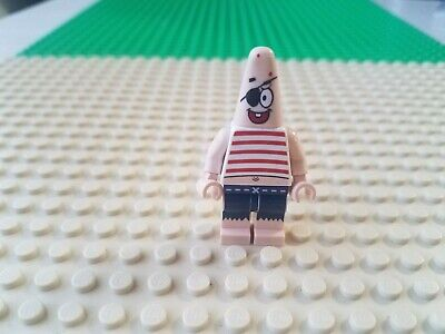 LEGO SPONGEBOB PATRICK STAR PIRATE MINIFIGURE BRAND NEW FROM SEALED SET