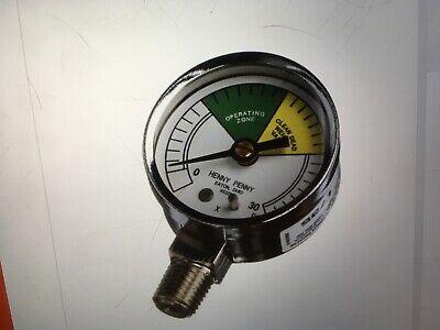 Henny Penny Fryer Pressure Gauge 0-30 Psig 2 Diameter 16910 4 Lot