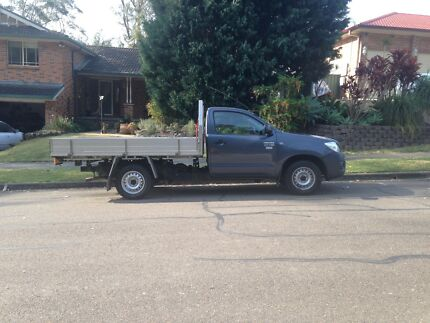toyota hilux workmate 2010 Lisarow Gosford Area Preview