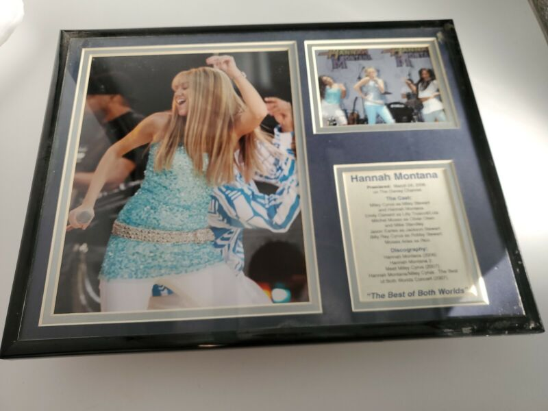 HANNAH MONTANA Best Both Worlds limited-edition print Disney matted Miley Cyrus