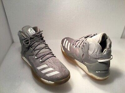 Adidas Men's D-Rose Athletic Shoes Size 9.5M Multicolor ART B54134