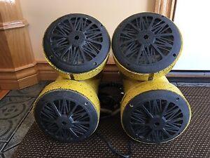 ATV Y pipes speakers 500 watts